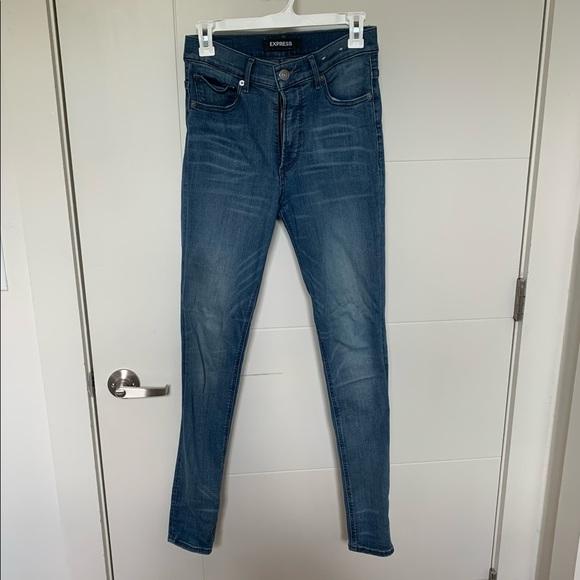 Express Legging High Rise Skinny Jeans
